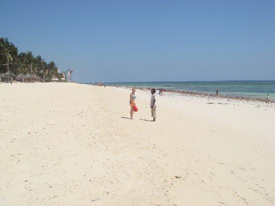 Leopard Beach Resort & Spa : la plage de l'hôtel