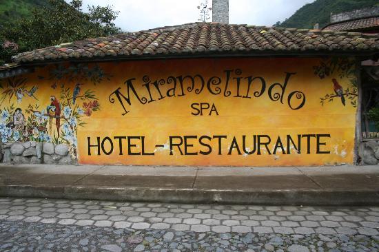 Miramelindo Spa Hotel: Main hotel sign outside