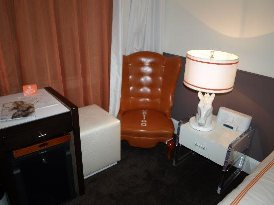 Hotel Vertigo: Detalle habitación