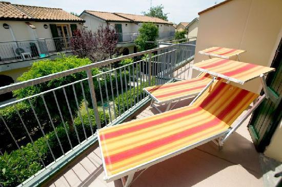 Villaggio Club Teodorico: Terrazzo