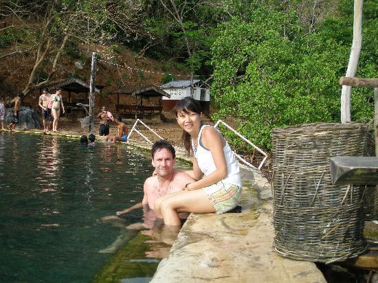 El Rio y Mar Resort: Hot spring