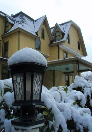 DeBary Inn : debaryinn after snow