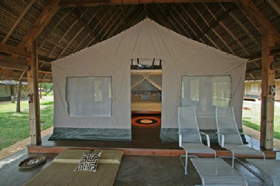 Eden Lodge: Safari style.