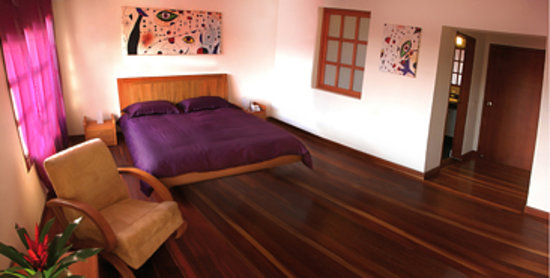 Hotel Casa Deco: purple executive