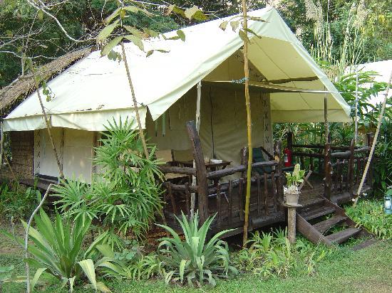 Hintok River Camp at Hellfire Pass: The 'Tent'