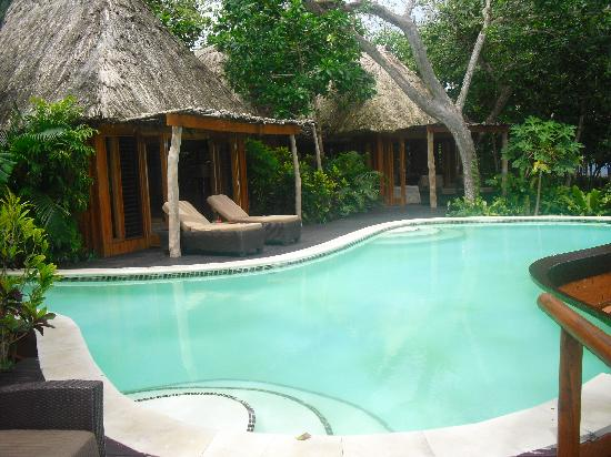 Namale Resort & Spa: Our Private Pool
