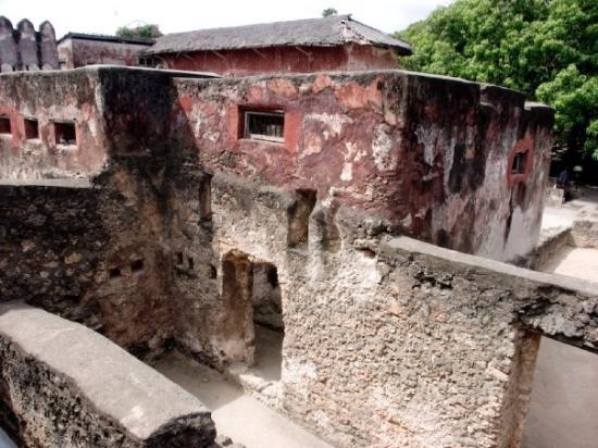 Fort Jesus Museum : Jėzaus fortas Mombasoje