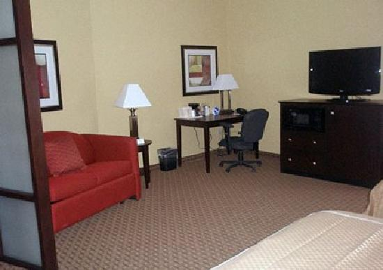 Comfort Suites Golden Isles Gateway Brunswick: Queen Suite Sitting Area