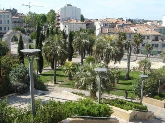 Le jardin arch ologique photo de montpellier h rault for Restaurant le jardin montpellier