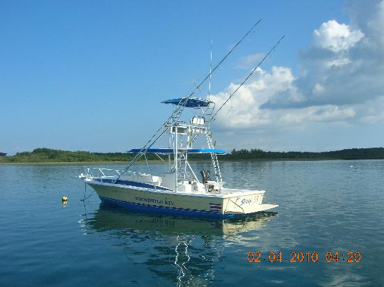 Crocodile Bay Resort - An All-Inclusive Resort: The 33' Strike boat upgrade.