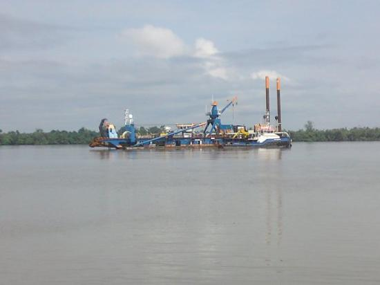 Dredger, Calabar, Nigeria