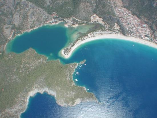 Strand von Ölüdeniz (Blaue Lagune) Foto