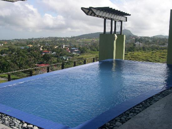Swimming Pool On The 7th Floor Picture Of One Tagaytay Place Hotel Suites Tagaytay Tripadvisor