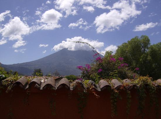 Hotel Panchoy: view from my window