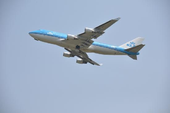 成田市, 千葉県, 大きく見える飛行機