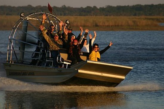 Loughman Lake Lodge: Best Airboat Eco Tours in Central Florida