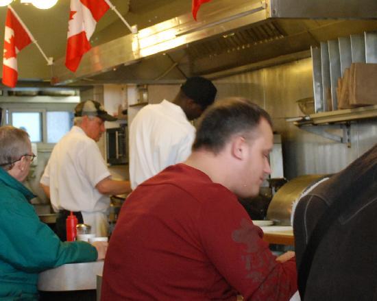Mellos Restaurant: The Kitchen