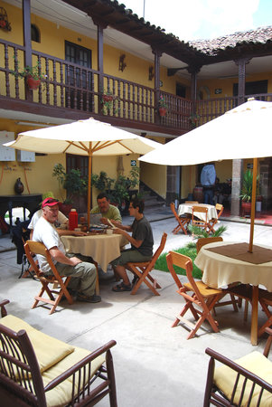 Hostal Quipu Cusco: Patio central