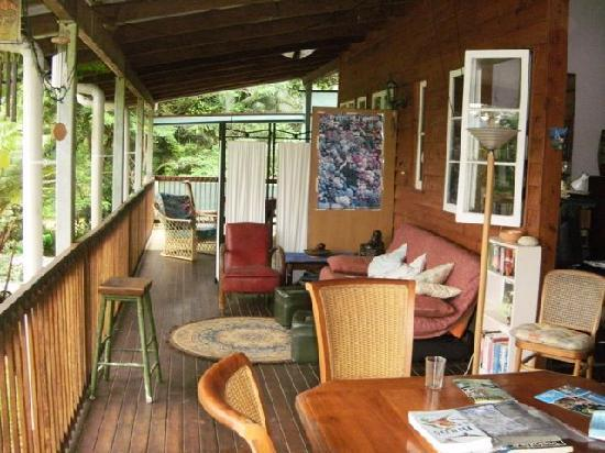 The Epiphyte Bed and Breakfast: Porch/Veranda