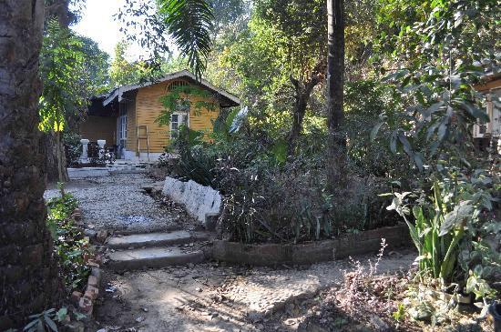Mrauk U, Burma: Un bungalow