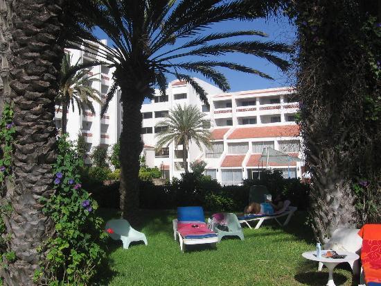 Hotel Adrar: The garden area near pool
