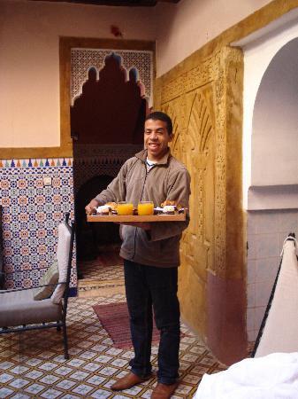 Riad Dar Tamlil: Breakfast