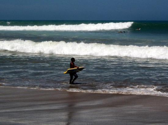 PeruKite Mancora: La Playa de Mancora.