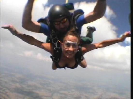 Yea I jumped out of a plane instead of crashing in one ...