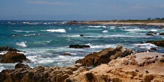 Seaside, Калифорния: Another part of  the 17-Mile Drive, California