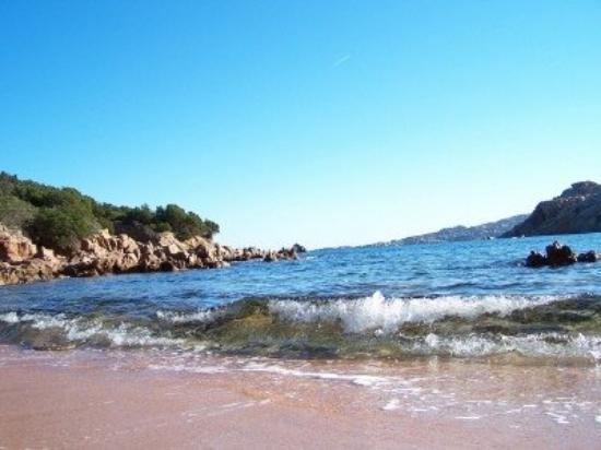 La Maddalena, Italy: Spalmatore Beach on LaMadd