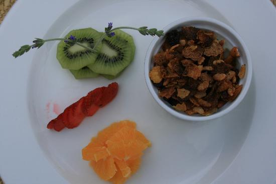 Shibula Lodge & Bush Spa: Breakfast