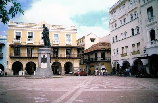 Cartagena, Kolumbien: 街中