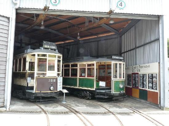 Museum of Transport and Technology: Old Wellington Trams
