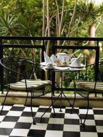 Quintinha São João: Bedroom Balcony