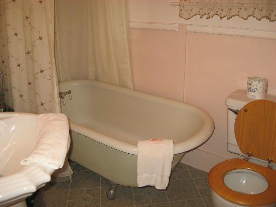 The Saragossa Inn B&B: The amazing tub!