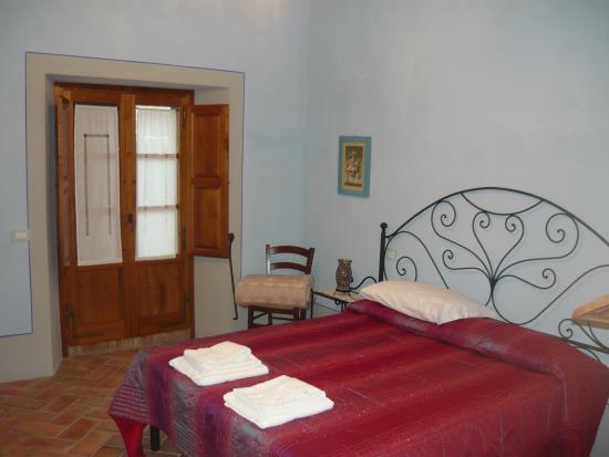Agriturismo Lucciola Bella: La camera da letto