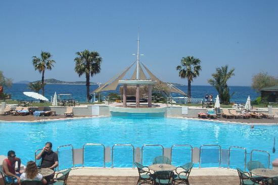 Litera Altinel Hotel: View from restaurant