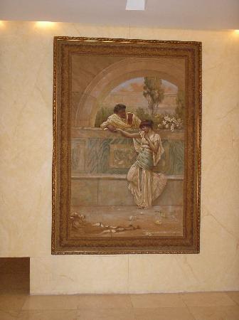NH Gran Hotel Provincial: arte en el lobby