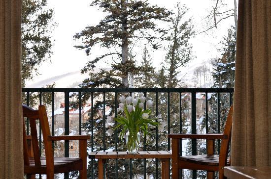 Mountain Lodge Telluride: balcony.