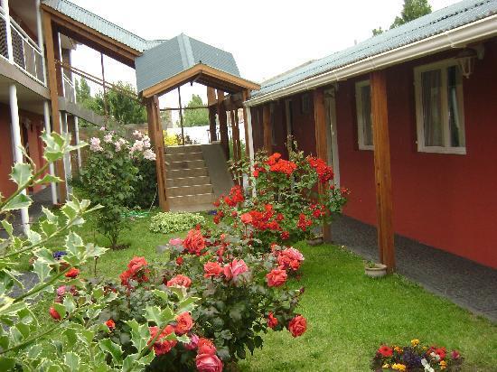 Hosteria Patagonia: patio interno