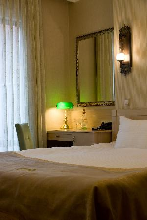 Hotel Seraglio: a room view