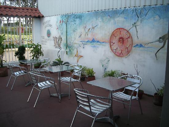 Hotel Coconut House: hier lässt es sich gut frühstücken