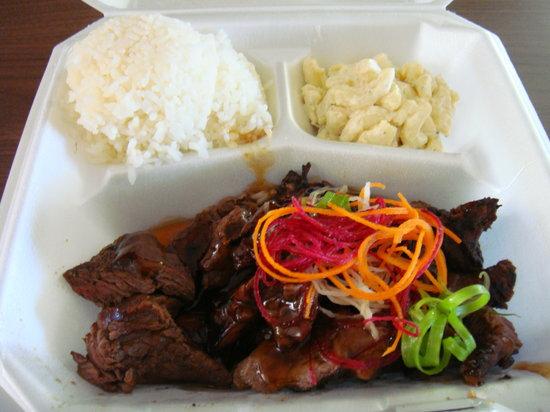 Dean's Drive-Inn: Teri-beef plate