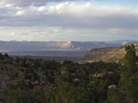 Grand Junction, CO: View from Grand Mesa