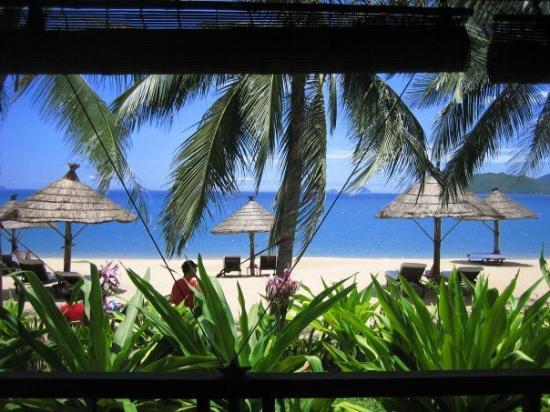 Evason Ana Mandara Nha Trang: Beach from the room