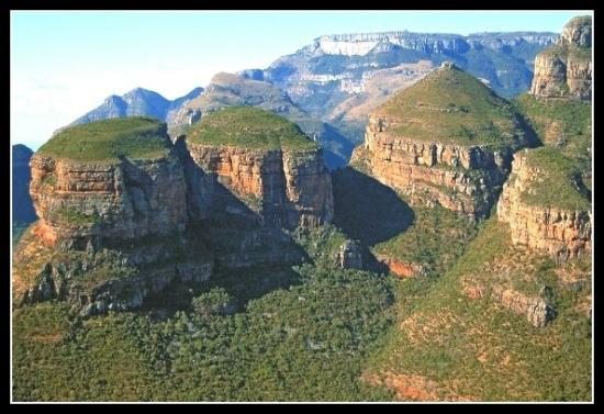 Pilgrim's Rest, South Africa: Three Rondavels