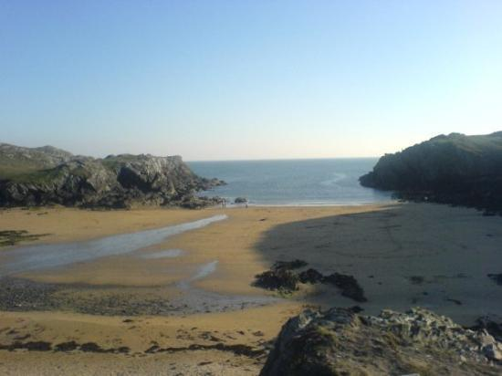 Pulau Anglesey, UK: port daforch.