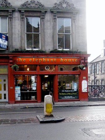 The Coffee Shop Where Jk Rowling Started Writing The Harry