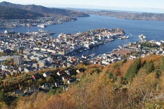 Flåm, Norge: Bergen