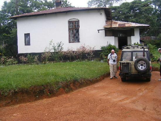Tanga, Tanzania: Arrival in the Car park.